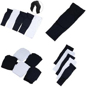 1PCS Honeycomb Basketball Knee pads Leg Sleeves Cellular Football Volleyball Soccer Kneepad Calf Support Ski Cycling Leg warmer