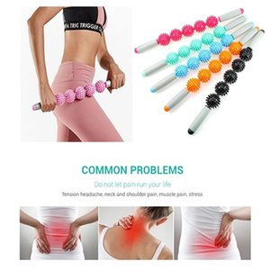 Anti Cellulite Massager Stick Less fat-Cellulite Trigger Point Stick Body Foot Face Leg Slimming Massage Muscle Roller Tool