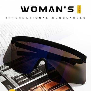 Anti Voyeur Sun Uv400 Visière Sports de plein air Lunettes de soleil à la mode Trend Sunglasses
