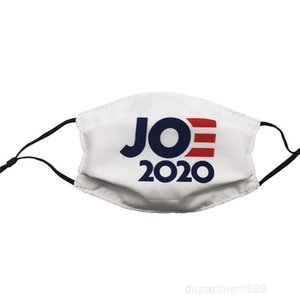 Face Joe Biden America Election Supplies Dust-proof Printing Mask Can Insert Filter DHL Free Shipping OWE2771