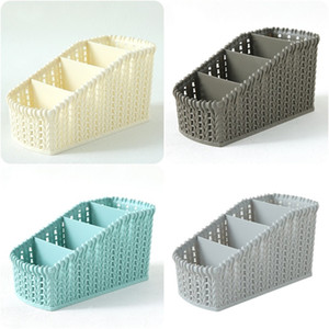 Artigos de mesa Artigos de mesa Cosméticos Estúdios de Área de Visitas De Plástico Cesta de Cozinha Cesta de Alta Capacidade Caixa de Embalagem Durável 4 3AF F2
