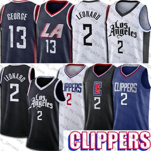 Kawhi Basketball 2 Leonard Jersey Paul 13 George Jerseys Los