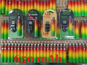 Vertex LAW V-VAPE 3 Packaging Co2 VV Preheat Battery Kit 650mah Variable Voltage Battery For 510 Wax Thick Oil Pre Heating Vape Cartridge
