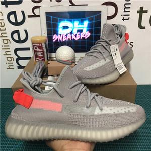 Высочайшее качество Kanye West Men Женская обувь Шингл Зебра хвостовой свет Светоотражающий ISRAFIL Углеродное белье abez Женщины кроссовки с коробкой