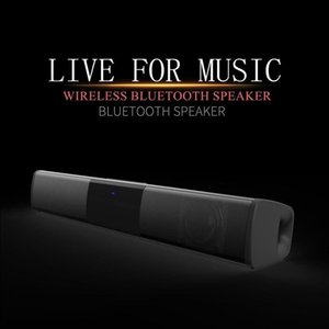 Wireless Bluetooth Speaker Long Bar Subwoofer Portable Stereo Music Player Car Bluetooth Radio Support TF Card At Home, Outdoor