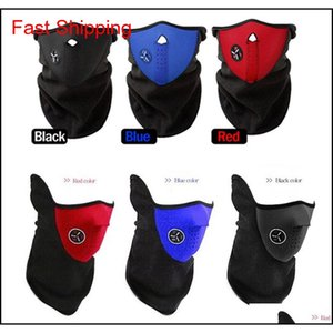 Fleece Face Mask Winter Ski Windproof Neck Warm Motorcycle Cycling Cap Hat Bicyle Thermal Scarf Outdoor S qylKlI bde_home