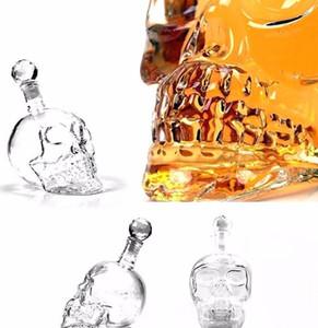 Kreative Kristallschädelkopf Flasche Whisky Whisky Wine Dekanter Flasche Whiskyglas Bierglas Girls Tasse Wasser GL Jlleks Figember2010