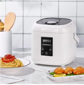Mini Rice Cooker Home Electric Steamer Multi-function Heating Rice Cooker Portable Cooking Machine Steamer