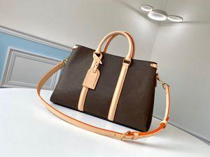 Borsa di designer di Lussurys, borse M44816 spalla M44815 BB sacchetto di tela maniglie di tela borse, con cinturino borse polvere soufflot crossbod qthms