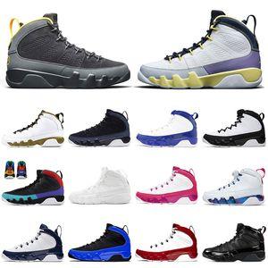 nike air jordan retro 9 9s Top Vente 2021 Nouveau Chaussures de basket-9 STOCK de X Université d'or JUMPMAN Gym Red Racer Blue de sport rétro formateurs