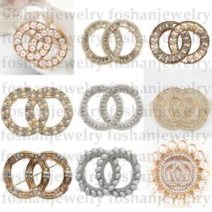 Yeni Tasarımcı Broş Kristal Elmas Lüks Broşlar Pins Giyim Takım Elbise Alaşım Broşlar Kadın Moda Takı Özel Teklif