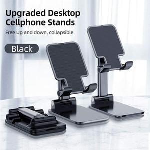 Universal Portable Foldable Extend Metal Desktop Tablet Table Stand Bracket Folding Desk Phone Stand Holder For smartphone tablet PC