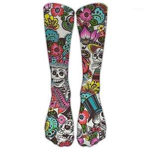 Casual Socken Herbst Winter Herren Womens Socken Frauen 3D Halloween Socken Mode Weihnachten Elche