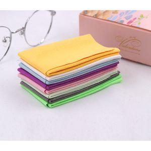 _MAX 50 stücke Weiche Gamsgläser Reiniger Brillen Mikrofaser Sauberes Tuch für Objektiv Telefonreinigungstücher