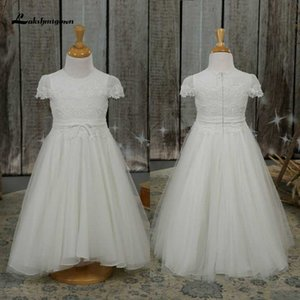 Flower Girls Dresses Princess Embroidery Flower Party Clothing Kids Dresses for Girls Evening Formal Gown Children Clothes