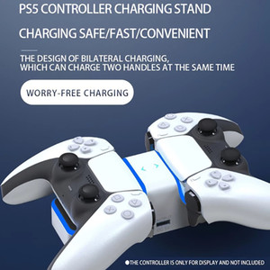 USB 3.1 Type-C Fast Charger For PS5 Wireless Controller Charging Cradle Dock Station For Sony PlayStation5 Joystick Gamepad