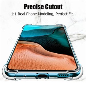 For Xiaomi Poco X3 Nfc Shockproof Tpu Sile Case For Xiaomi Poco X3 Nfc F2 M2 Pro Pocophone F1 Transparent So wmtwyq
