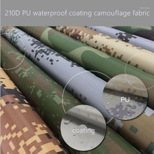 210DPU waterproof coating camouflage Oxford cloth outdoor camouflage tent fabric 45*150cm piece light weight TC002601