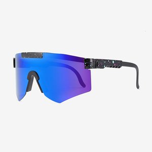 70% OFF 2020 new mens big frame over sized Polarized sports pit viper sunglasses
