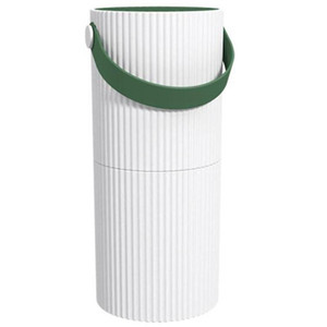 Smart Press Household Air Purifier Office Smoke and Dust Removal Efficient Fresh Air with Data Cable White