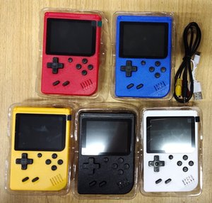 Best 400 in 1 Portable Handheld Games Console Game Pad Retro 8 bit 3.0 Inches Color LCD Display Best Gifts for Kids Retail box Packing