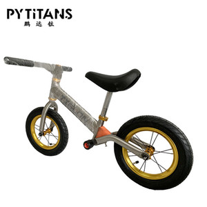 Factory directly sale GR9 Titanium Alloy Children Balance Bike 12 inch Baby Walkers CE Kids Balance Bike best price