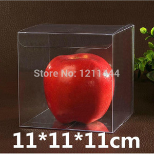 20PCS lot 11*11*11cm Clear Plastic Products Display Packing Gifts Boxes Succulent Plants Presents Ball Storage Box