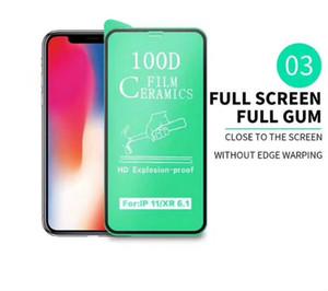 Экран мягкий закаленный 6s для стекла 12 протектор 8 11 х защитная пленка Max 7 iPhone Plus Ceramic PRO Полный клеевой крышка XS XR