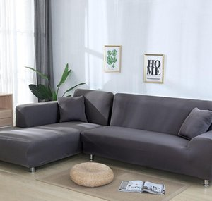 grey color elastic couch sofa cover loveseat cover sofa covers for living room sectional slipcover armchair furniture