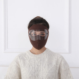 Dustproof Masks Fleece riding windproof high - resolution goggles anti - fog face mask 240pcs box for sale