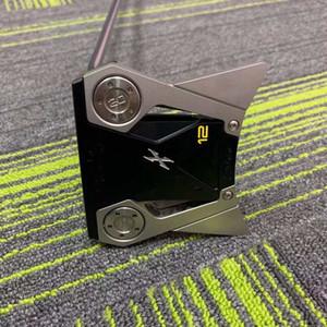 Clubes de golf, Putter de nuevo estilo, Club de hombres, Putter de aluminio de aviación X12 Llave de distribución gratuita y cubierta de cabeza, lata de contacto con el vendedor para M