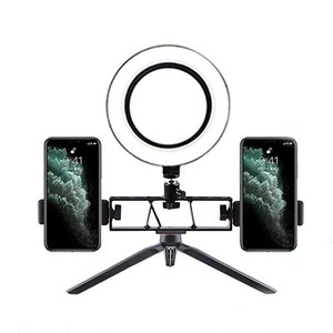 6 inch Selfie RING Light Table Lamp with Mini Tripod Led ring lamp Camera Light Studio Live for Makeup Youtube Video