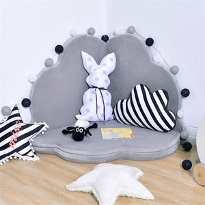 Children's ground petal crawling thickened game baby non-skid climbing pad folding detachable washing bed fence Q1120