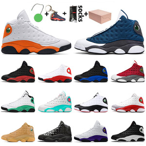 Neue Top-Qualität Retro Mens Womens Jumpman 13 13s Satin