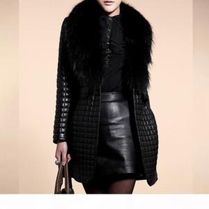 Long Sleeve Faux Fur Coat Women Leather Fur Jacket Plus Size Long Coat 2020 New Winter Fashion Teddy Open Front Overcoat