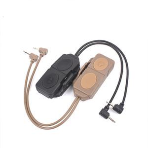 Tactical Dual Remote Control Pressure Torch Switch For DBAL-MKII PEQ 16A M3X WMX200 Flashlight Light
