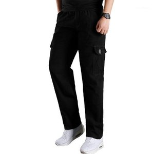 Мужские брюки высокого качества мужчины плюс большой размер 4XL 5XL 6xL мужской грузовой человек случайные армейские тактические брюки Male1