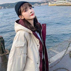 Down jacket cotton padded jacket women's Korean version loose oversize winter coat cotton jacket new fashion brand of women's clothing in