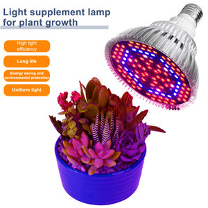 New Design LED Grow Light Full Spectrum 30W 50W 80W E27 LED Growing Bulb for Indoor Hydroponics Flowers Plants LED Growth Lamp