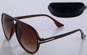 Tom Glasses Round New Sun Sunglasses 0339 Tom Eyewear Man Square Designer Fashion UV400 Ford Lenses Trend Sunglasses Ford TF211 Woman 5 Cpos