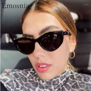 Солнцезащитные очки EMOSNIA 2021 Унисекс Мода Маленький Кошка Глазные Мужчины Женщины Личности Заклепки Солнцезащитные Очки Прохладная Уличная Очки Очки UV4001
