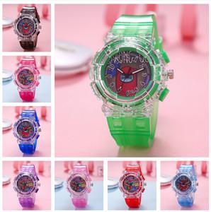 Дети среди нас игра светодиодные часы мальчик девочек моды мультфильм светящиеся часы наручные часы дизайнер часы аналоговые наручные часы DHL бесплатная доставка