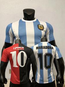 Versión del jugador 1986 1993 1994 Newell's Old Boys Camiseta Argentina Fútbol Jerseys Maillot Camiseta Diego Maradona 86 93 94 Camisa de fútbol