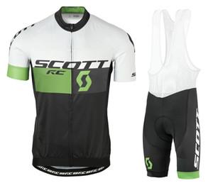 2017 Scott Bike Abbigliamento Abbigliamento corto manica corta Scottful Racing Uniform Summer Bicycle Sports Wear Suit Quick Dry Dry