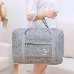 High Quality Waterproof Oxford Travel Bags Women Men Large Duffle Bag Travel Organizer Luggage bags Packing Cubes Weekend Bag T200710