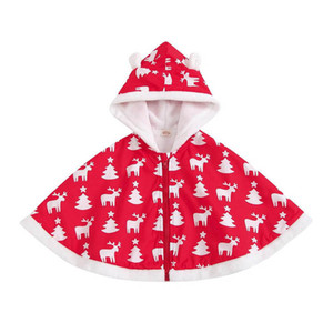 INS autumn winter Christmas baby cloak cute girls cloak kids cloak baby coats girls coat boys coat kids outerwear girls outerwear B3477