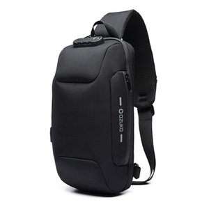 New Multifunction Crossbody for Men Anti-theft Shoulder Messenger Bags Male Waterproof Short Trip Chest Pack