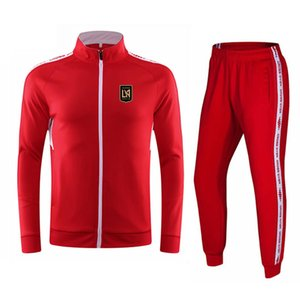 Los Angeles 2020-21 Autumn and winter new jacket men's football training suit long casual wear sports training suit men's running suit
