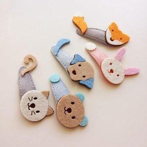 1PC New Creative Lovely Cartoon Cat Bear Baby BB Clips Hair Clip Kids Headwear Children Accessories Girls Hairpins