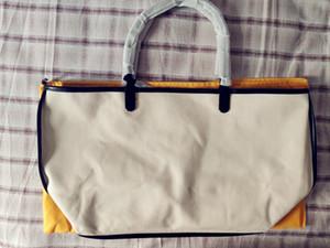 Женская кожаная сумочка Большая сумка с высоким качеством мягкого холста-составной сумки с небольшим мешочным мешком
